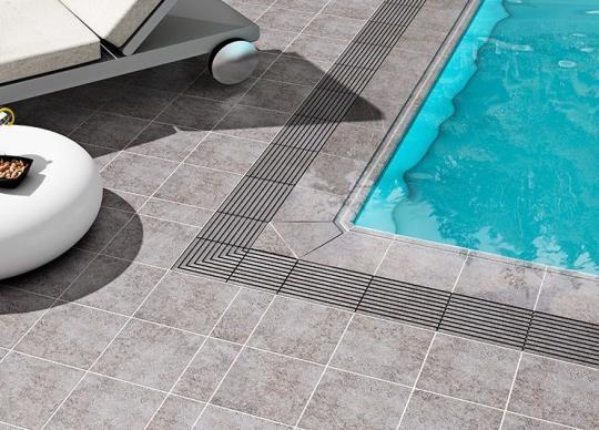 Dlažba Fuji, moderní design, bazénové prvky