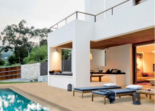 Venkovní dlažby s prvky pro bazény Lovely