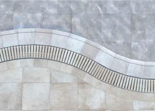 Bazénové tvarovky a dlažba Bohéme